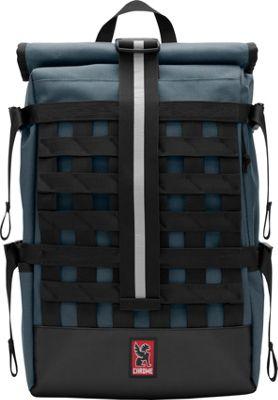 Chrome Industries Barrage Cargo Laptop Backpack Indigo/Black - Chrome Industries Business & Laptop Backpacks
