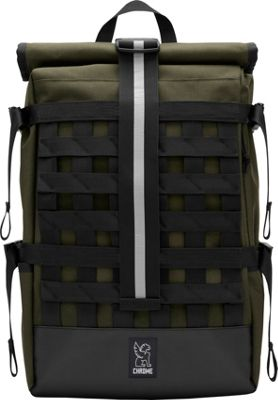 Chrome Industries Barrage Cargo Laptop Backpack Ranger/Black - Chrome Industries Business & Laptop Backpacks