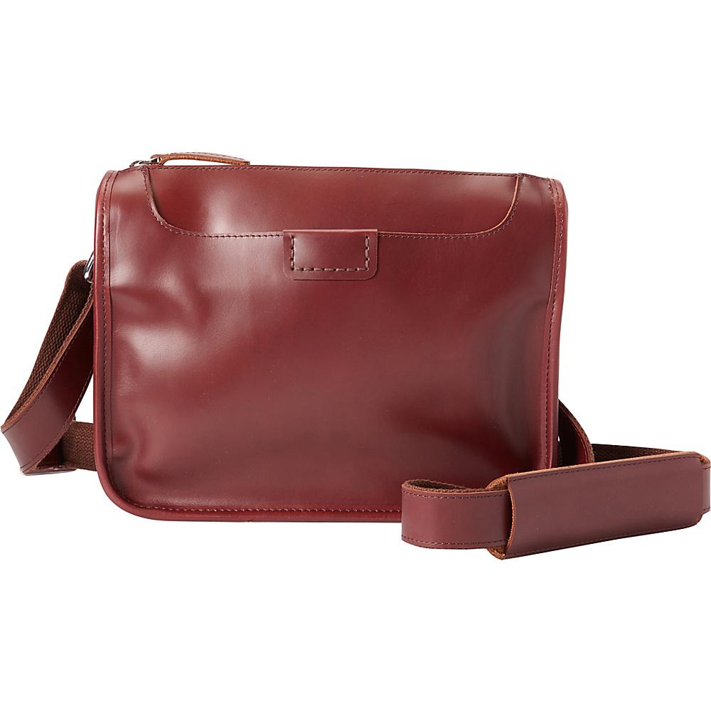 Vagabond Traveler Shoulder Bag Crossbody Wine Red - Vagabond Traveler Leather Handbags - Handbags, Leather Handbags