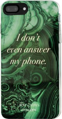 Fifth & Ninth iPhone 7 Plus Slim Impact Resistant Bumper Case She Just Knows - Fifth & Ninth Electronic Cases