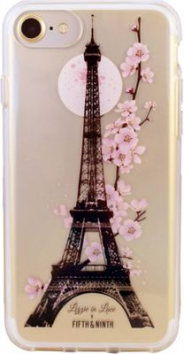 Fifth & Ninth iPhone 7 Slim Impact Resistant Bumper Case Parisian - Fifth & Ninth Electronic Cases