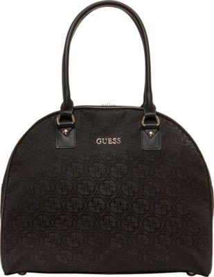 GUESS Travel Ryann 15 inch Dome Carry-On Tote Black - GUESS Travel Luggage Totes and Satchels