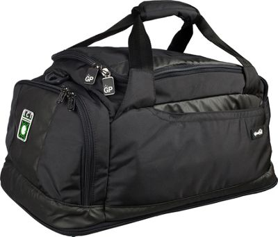 Genius Pack Carry On Duffle with Integrated Suiter Black - Genius Pack Softside Carry-On