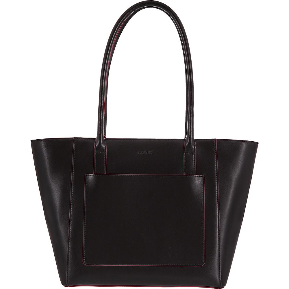 Lodis Audrey RFID Margaret Medium Tote Black - Lodis Leather Handbags - Handbags, Leather Handbags