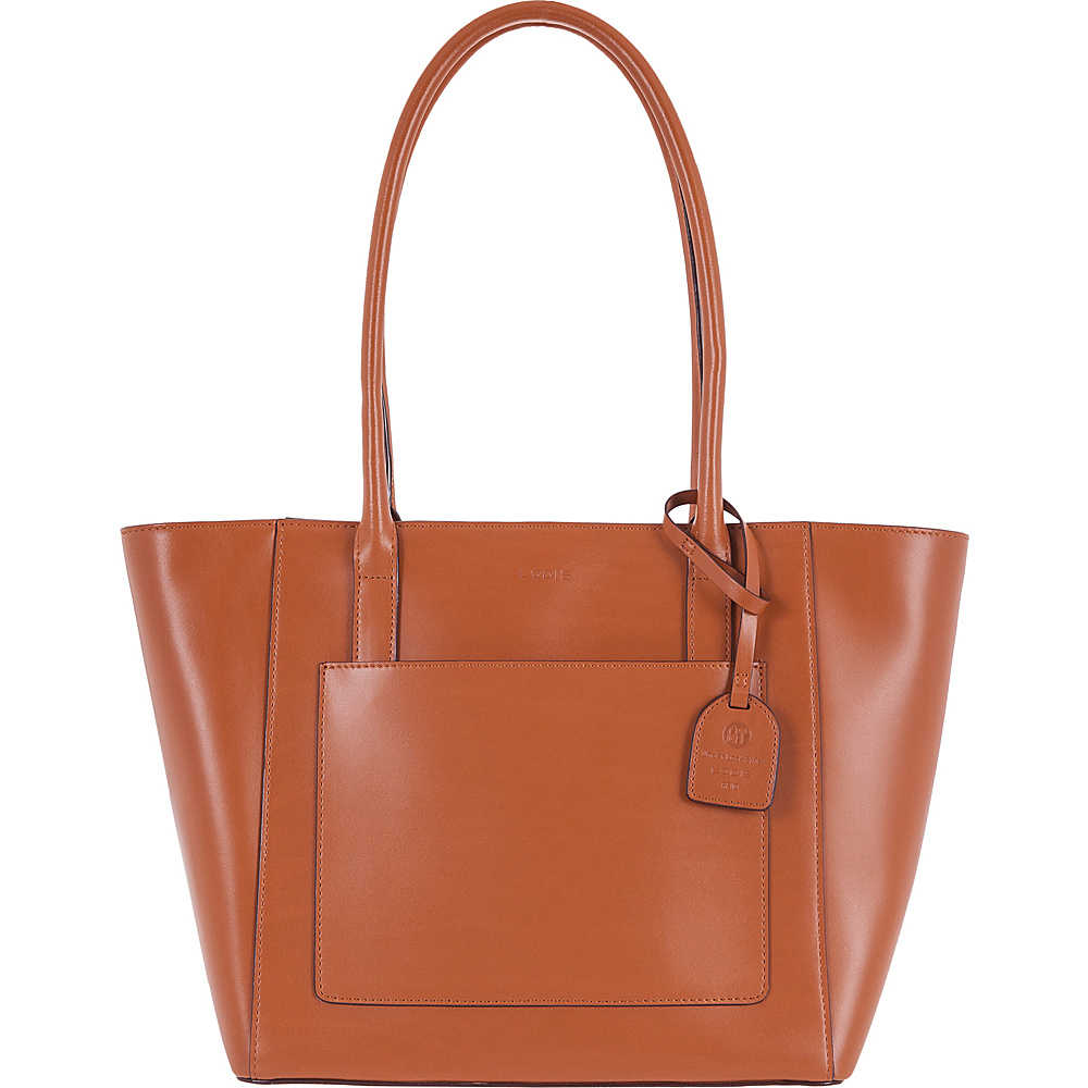 Lodis Audrey RFID Margaret Medium Tote Toffee - Lodis Leather Handbags - Handbags, Leather Handbags