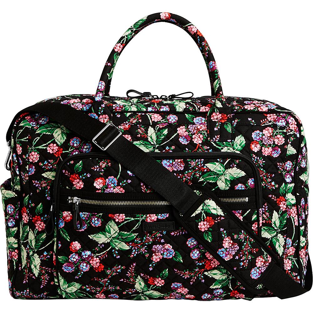 Vera Bradley Iconic Weekender Travel Bag Winter Berry - Vera Bradley Travel Duffels - Duffels, Travel Duffels