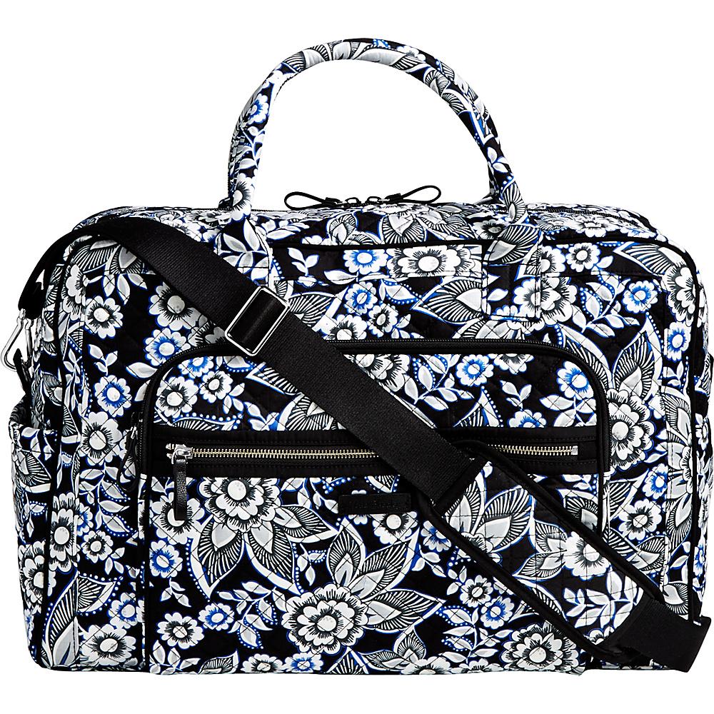 Vera Bradley Iconic Weekender Travel Bag Snow Lotus - Vera Bradley Travel Duffels - Duffels, Travel Duffels