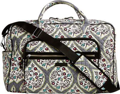 Vera Bradley Iconic Weekender Travel Bag Heritage Leaf - Vera Bradley Travel Duffels