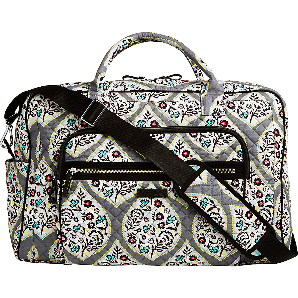 Vera Bradley Iconic Weekender Travel Bag Heritage Leaf - Vera Bradley Travel Duffels - Duffels, Travel Duffels