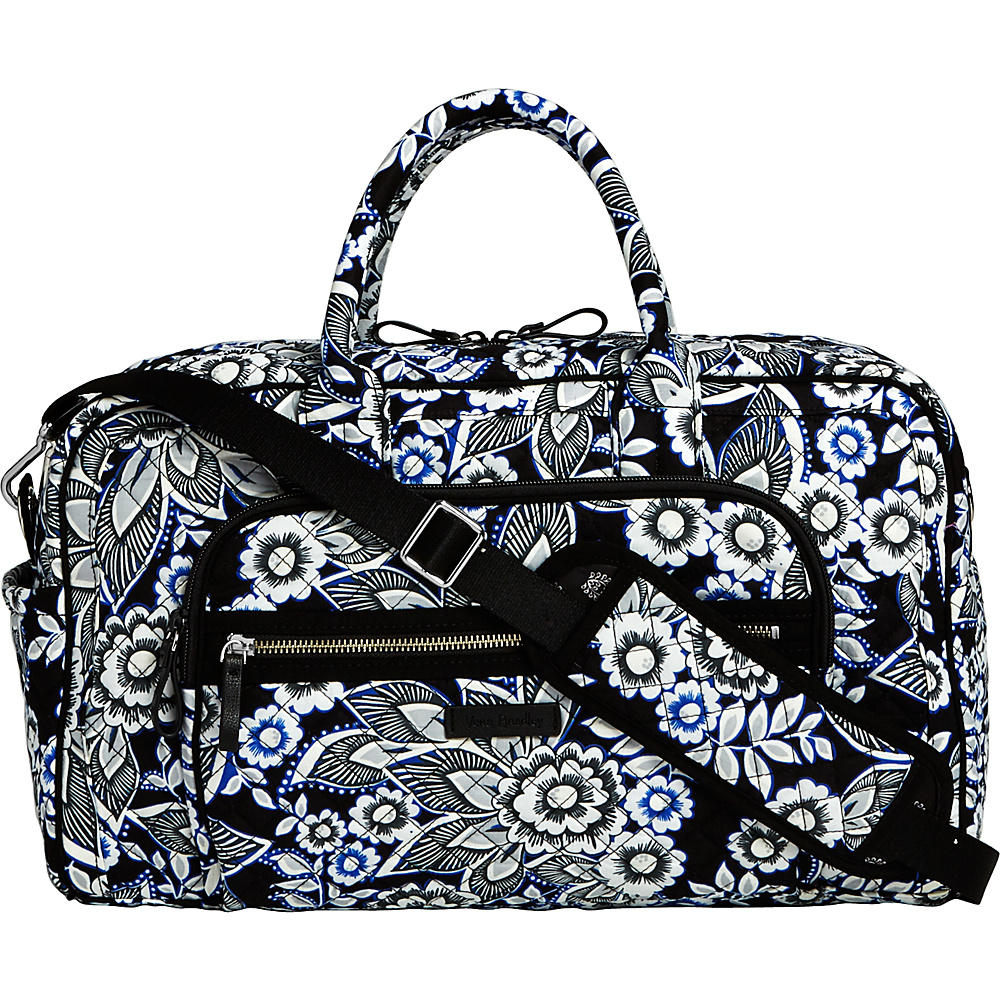 Vera Bradley Iconic Compact Weekender Travel Bag Snow Lotus - Vera Bradley Travel Duffels - Duffels, Travel Duffels