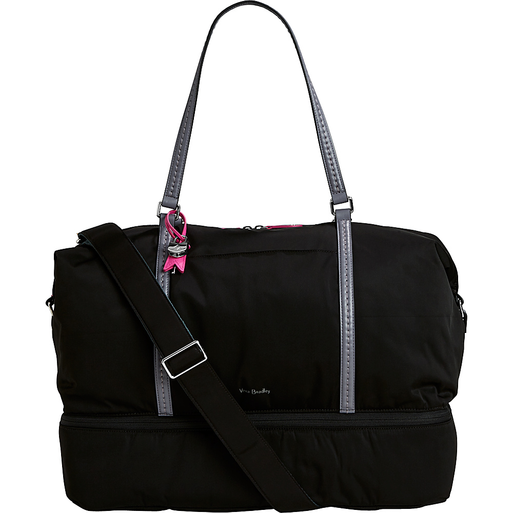 Vera Bradley Midtown Travel Bag - Solids Black - Vera Bradley Luggage Totes and Satchels - Luggage, Luggage Totes and Satchels