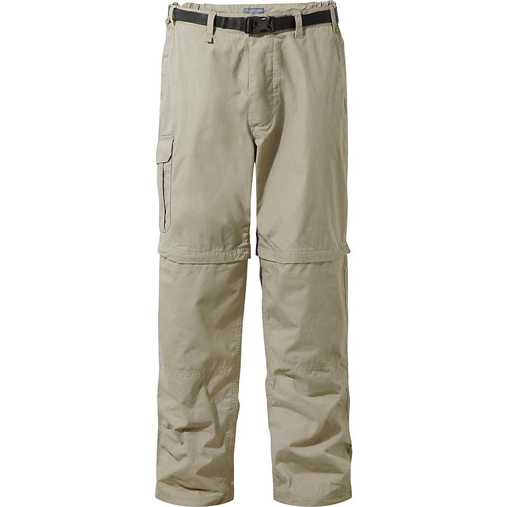 Craghoppers Kiwi Convertible Trousers 30 - Long - Beach - Craghoppers Mens Apparel - Apparel & Footwear, Men's Apparel