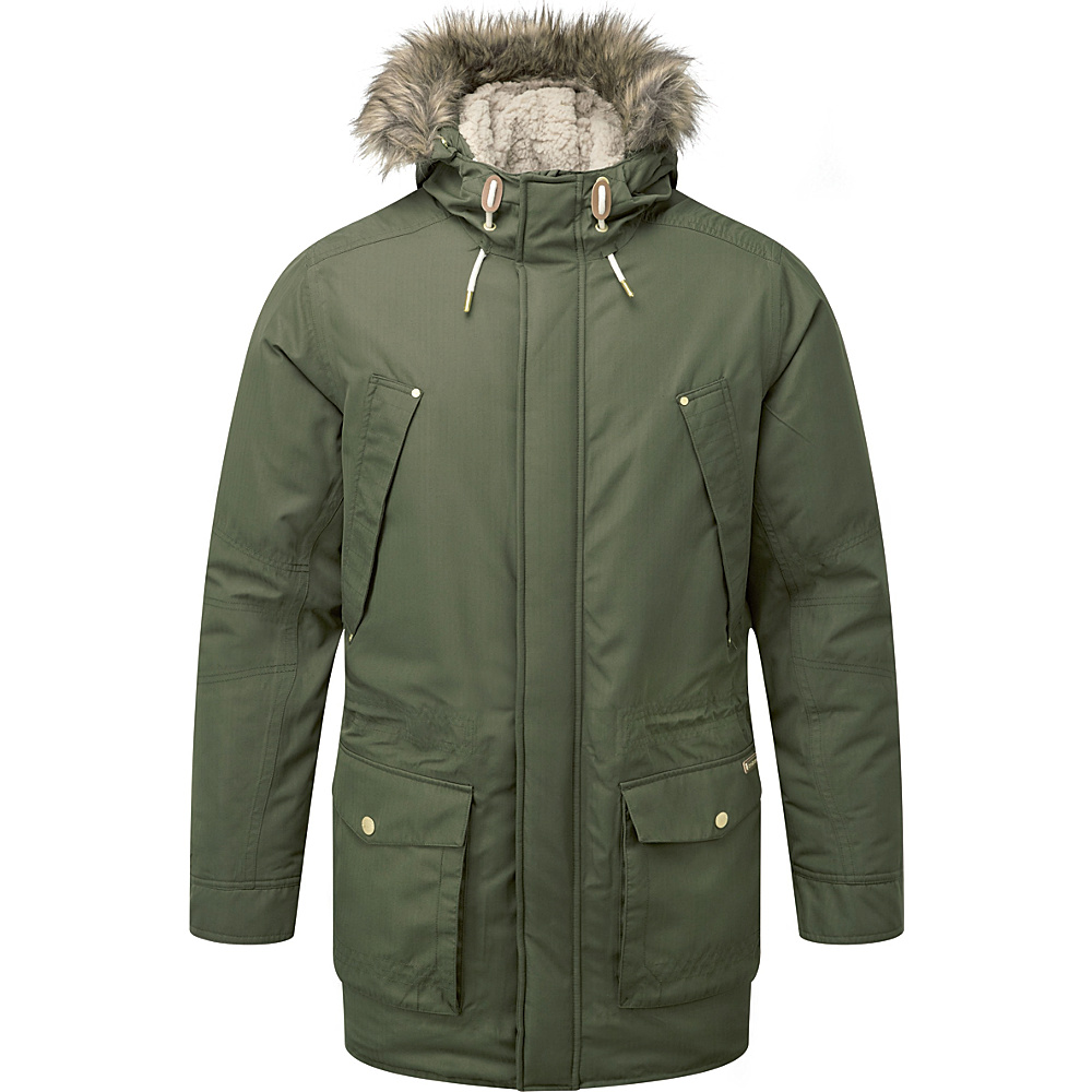 Craghoppers Nat Geo Argyle Parka XL - Dark Moss - Craghoppers Mens Apparel - Apparel & Footwear, Men's Apparel