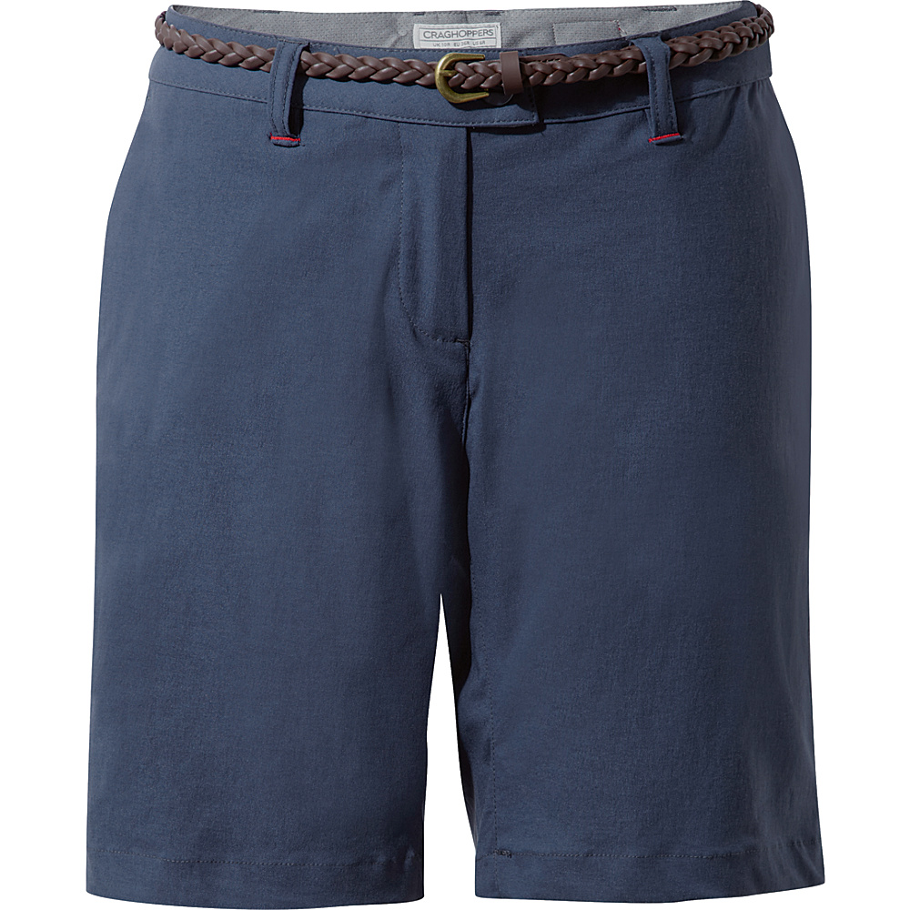 Craghoppers Nat Geo NosiLife Fleurie Short 4 - Soft Navy - Craghoppers Womens Apparel - Apparel & Footwear, Women's Apparel