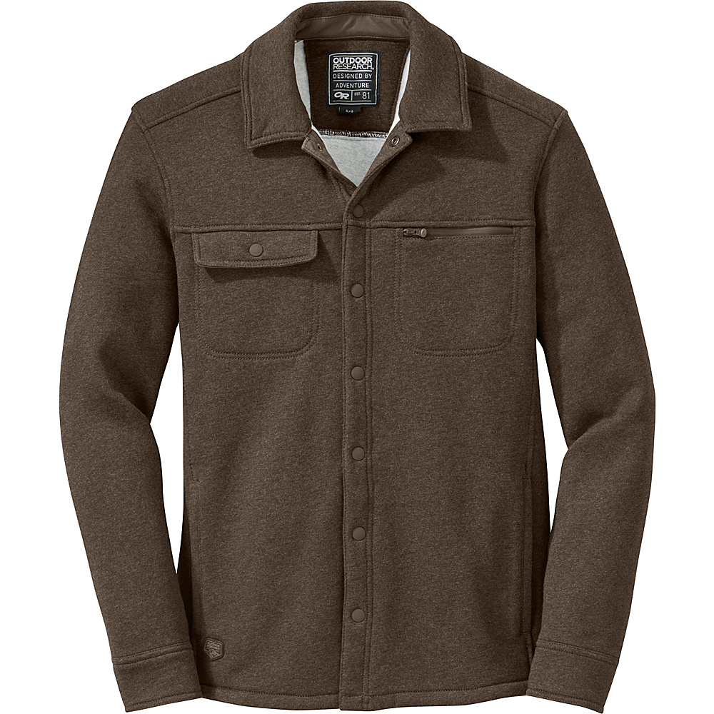 Outdoor Research Mens Revy Shirt M - Earth - Outdoor Research Mens Apparel - Apparel & Footwear, Men's Apparel