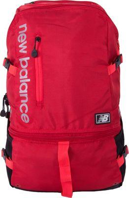 New Balance Commuter Laptop Backpack V2 Team Red - New Balance Business & Laptop Backpacks