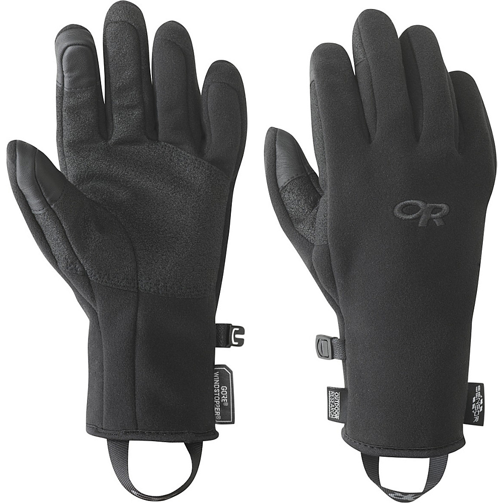 Outdoor Research Womens Gripper Sensor Gloves M - Black - Outdoor Research Hats/Gloves/Scarves - Fashion Accessories, Hats/Gloves/Scarves
