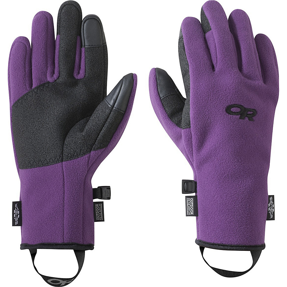 Outdoor Research Womens Gripper Sensor Gloves M - Orchid - Outdoor Research Hats/Gloves/Scarves - Fashion Accessories, Hats/Gloves/Scarves
