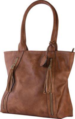 Browning Alexandria Concealed Carry Shoulder Bag Brown - Browning Leather Handbags