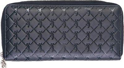 Browning Zip Around Wallet Black - Browning Women's Wallets