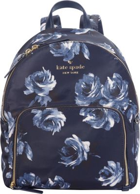 kate spade new york Watson Lane Night Rose Hartley Backpack Night Rose - kate spade new york Designer Handbags