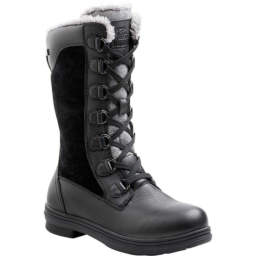 Kodiak Womens Glata Tall Waterproof Boot 6 - Black - Kodiak Womens Footwear - Apparel & Footwear, Women's Footwear