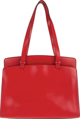 Lodis Audrey Jana Work Tote - Discontinued Colors Red/Black - Lodis Leather Handbags