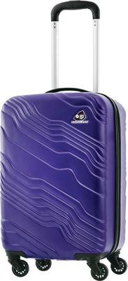 Kamiliant Kanyon 20 inch Hardside Carry-on Spinner Luggage Royal Blue - Kamiliant Hardside Carry-On