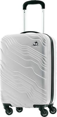 Kamiliant Kanyon 20 inch Hardside Carry-on Spinner Luggage Silver - Kamiliant Hardside Carry-On