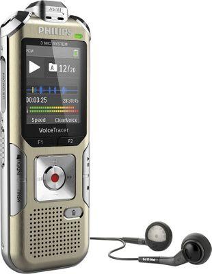 Philips Speech Voice Tracer Audio Recorder Champagne - Ph...