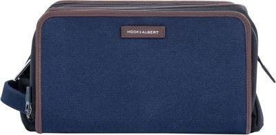 Hook & Albert Twill Toiletry Kit Navy - Hook & Albert Toiletry Kits