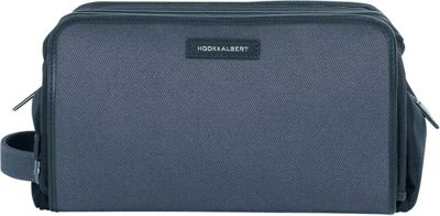 Hook & Albert Twill Toiletry Kit Gray - Hook & Albert Toiletry Kits