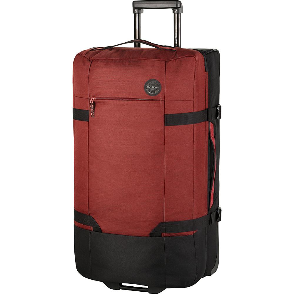 DAKINE Split Roller EQ 31 100L Wheeled Luggage Burtn Rose - DAKINE Softside Checked - Luggage, Softside Checked