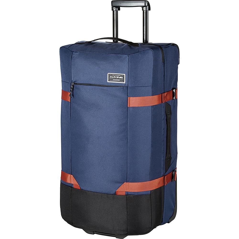 DAKINE Split Roller EQ 31 100L Wheeled Luggage Dark Navy - DAKINE Softside Checked - Luggage, Softside Checked