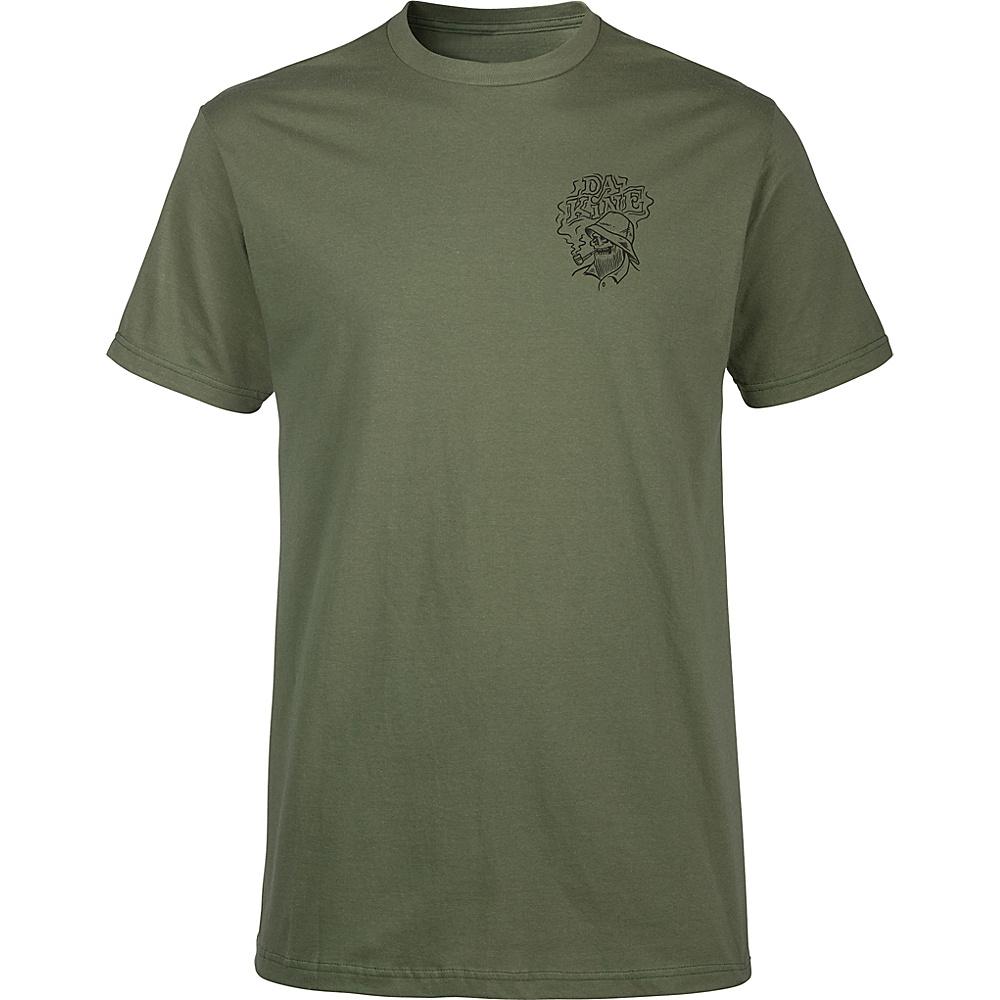 DAKINE Mens Still Smokin T-Shirt L - Army - DAKINE Mens Apparel - Apparel & Footwear, Men's Apparel