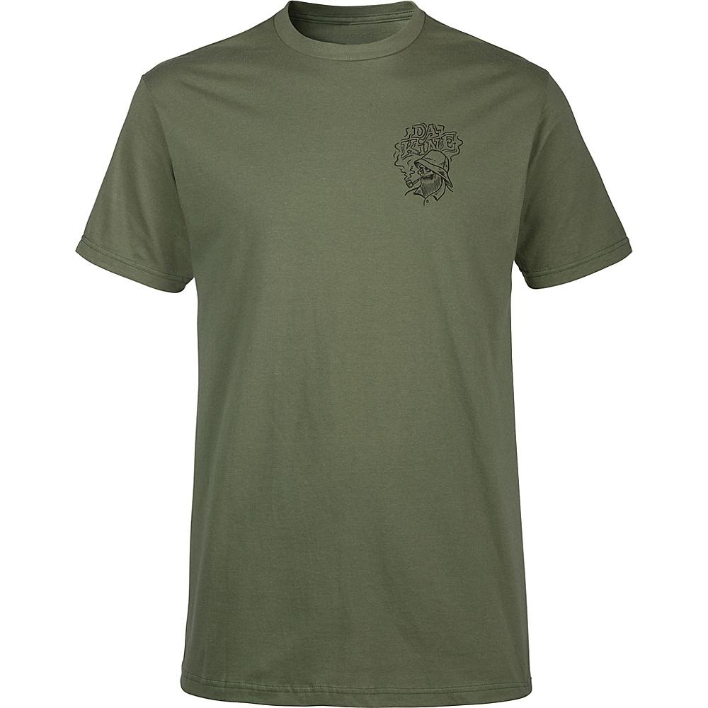 DAKINE Mens Still Smokin T-Shirt L - Army - DAKINE Mens Apparel - Apparel & Footwear, Men's Apparel