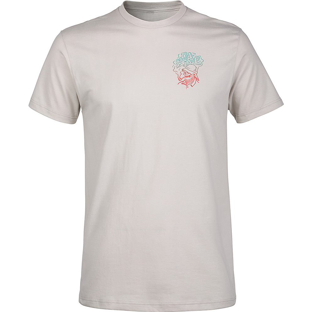 DAKINE Mens Still Smokin T-Shirt S - Silver Grey - DAKINE Mens Apparel - Apparel & Footwear, Men's Apparel