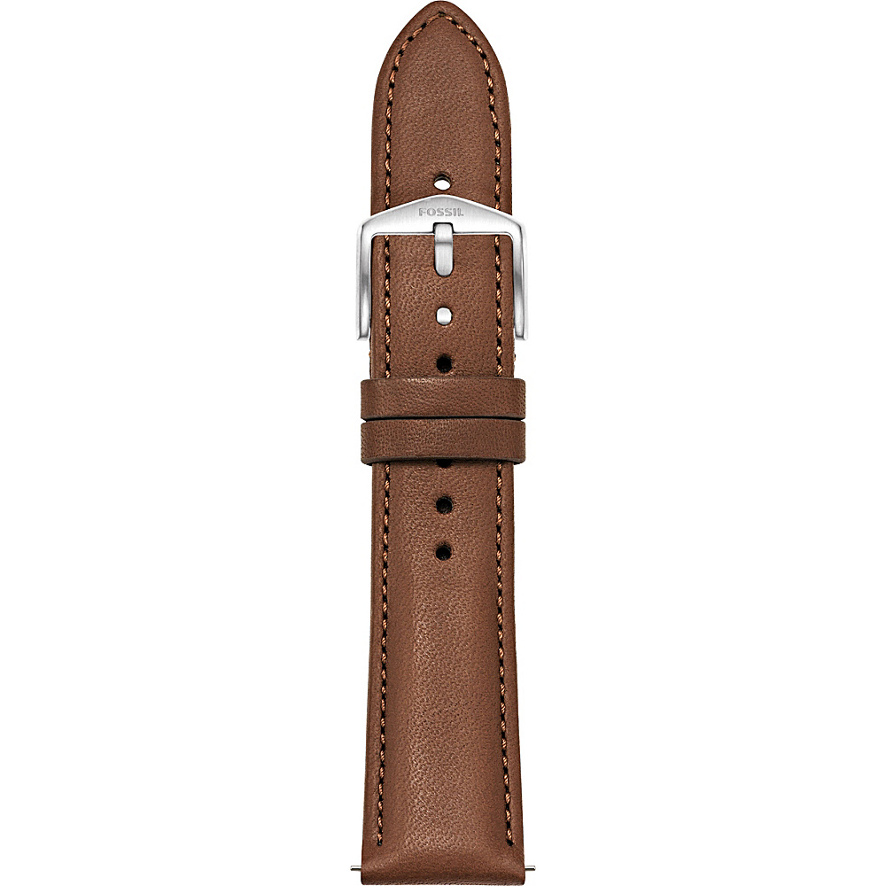 Fossil 20mm Leather Watch Strap Brown - Fossil Watches - Fashion Accessories, Watches