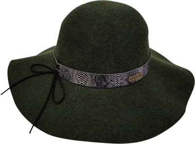 Hatch Hats Serpent Band Floppy Hat One Size - Olive - Hatch Hats Hats/Gloves/Scarves