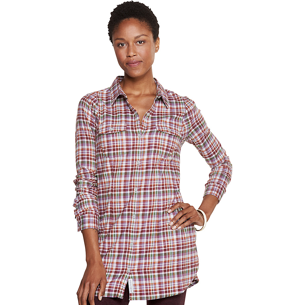 Toad & Co Lightfoot Tunic L - Purple Thistle - Toad & Co Womens Apparel - Apparel & Footwear, Women's Apparel