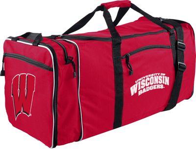 NCAA Steal Duffel Wisconsin - NCAA Gym Duffels