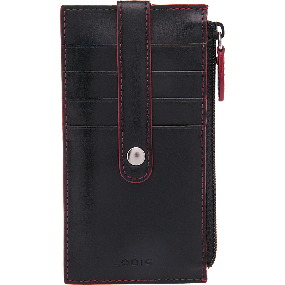 Lodis Audrey RFID Small Credit Card Case Black - Lodis Womens Wallets - Women's SLG, Women's Wallets