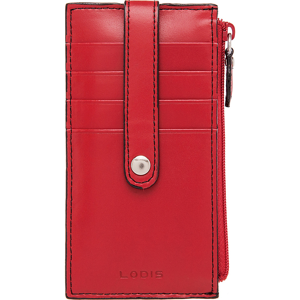 Lodis Audrey RFID Small Credit Card Case Red - Lodis Womens Wallets - Women's SLG, Women's Wallets