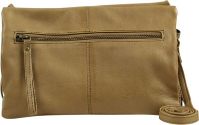 Day & Mood Maple Crossbody Pale Khaki - Day & Mood Leather Handbags