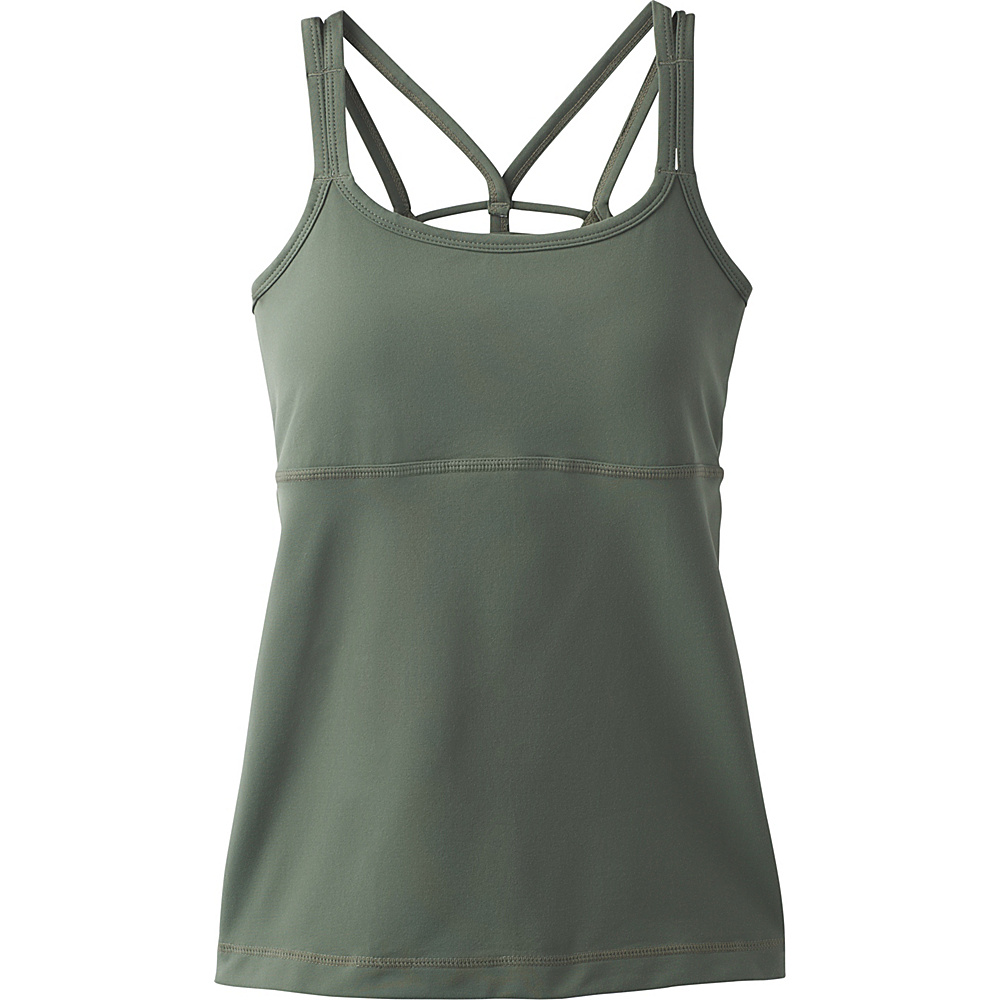 PrAna Naturale Tank M - Forest Green - PrAna Womens Apparel - Apparel & Footwear, Women's Apparel
