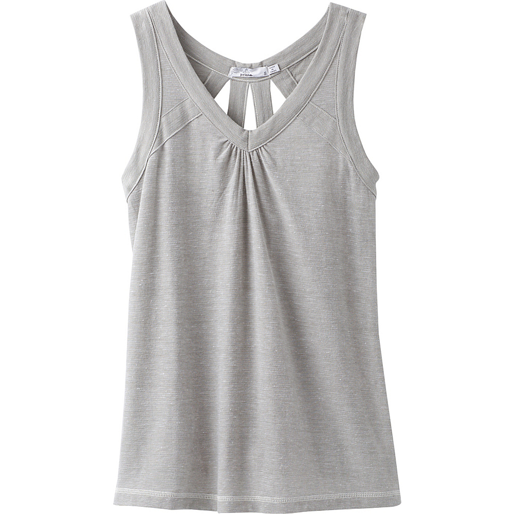 PrAna Kornelie Tank XS - White - PrAna Womens Apparel - Apparel & Footwear, Women's Apparel
