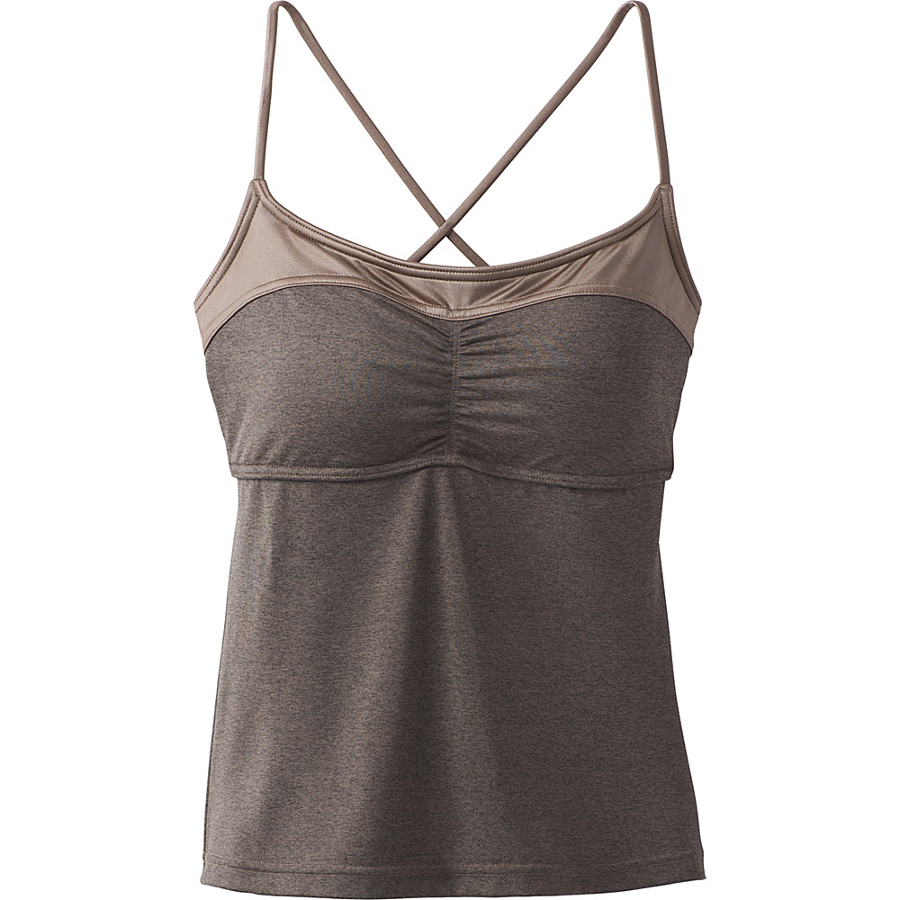 PrAna Makoa Tankini L - Muted Truffle - PrAna Womens Apparel - Apparel & Footwear, Women's Apparel