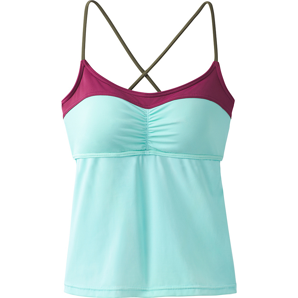 PrAna Makoa Tankini L - Succulent Color Block - PrAna Womens Apparel - Apparel & Footwear, Women's Apparel