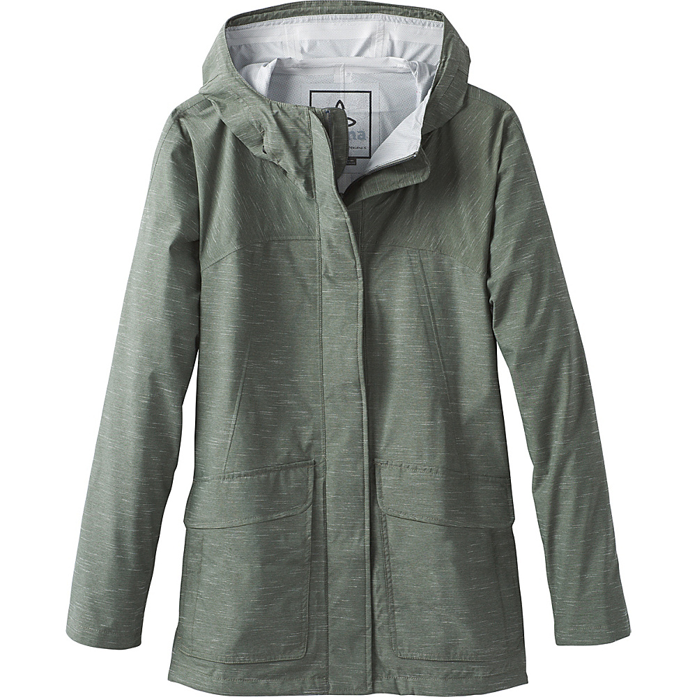 PrAna Maritime Jacket M - Forest Green - PrAna Womens Apparel - Apparel & Footwear, Women's Apparel