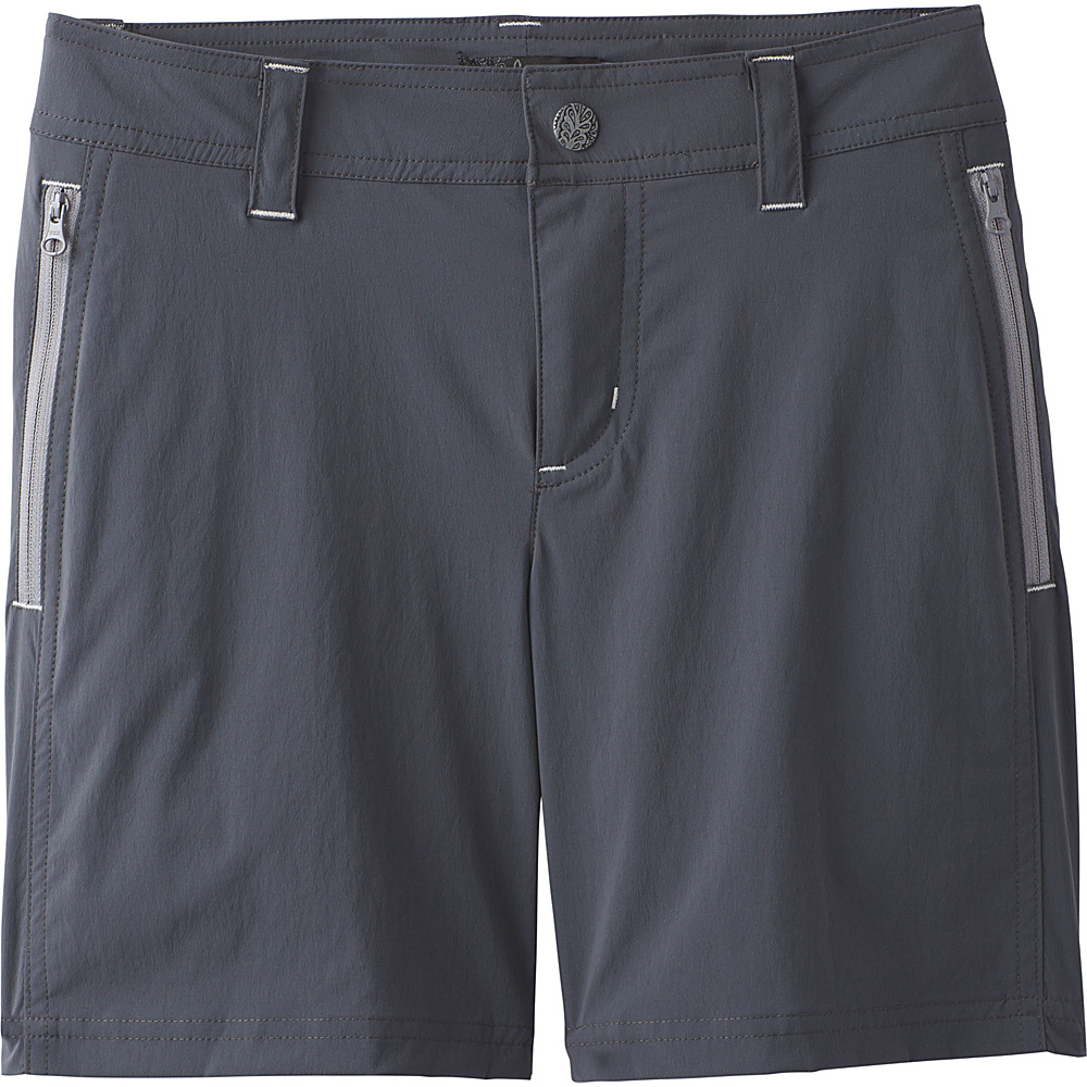 PrAna Aria Short 2 - Coal - PrAna Womens Apparel - Apparel & Footwear, Women's Apparel